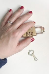 How can freelancers prepare for the GDPR - hand holding padlock