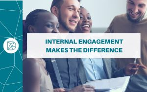 The Difference blog headers - Internal engagement makes the difference
