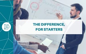 The Difference blog header - The Difference for Start-ups
