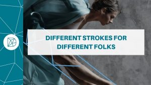 The Difference blog header - Different strokes for different folks