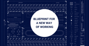blue print for new offices