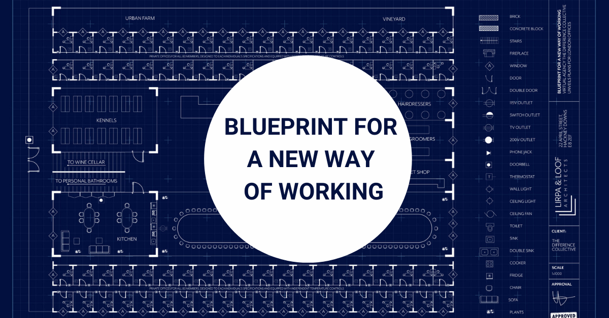 blue print for a new way of working